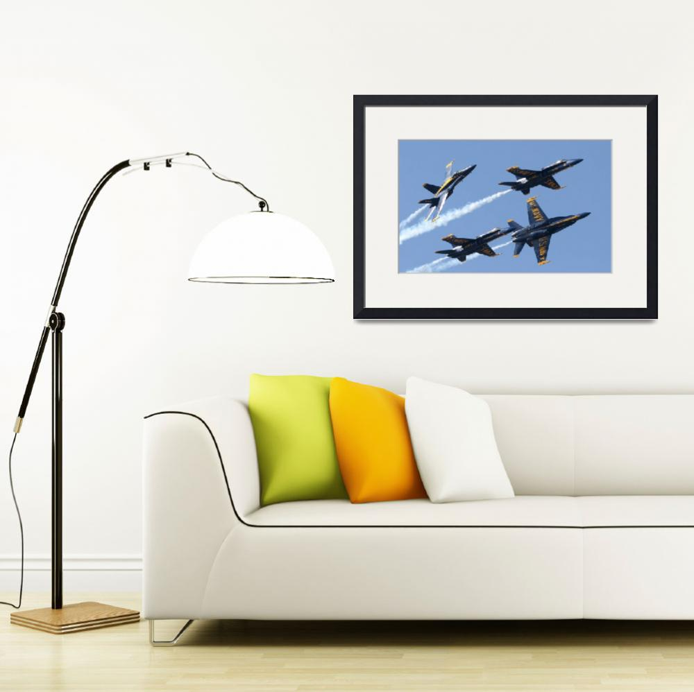 """""""Blue Angels""""  (2007) by ColinBody"""