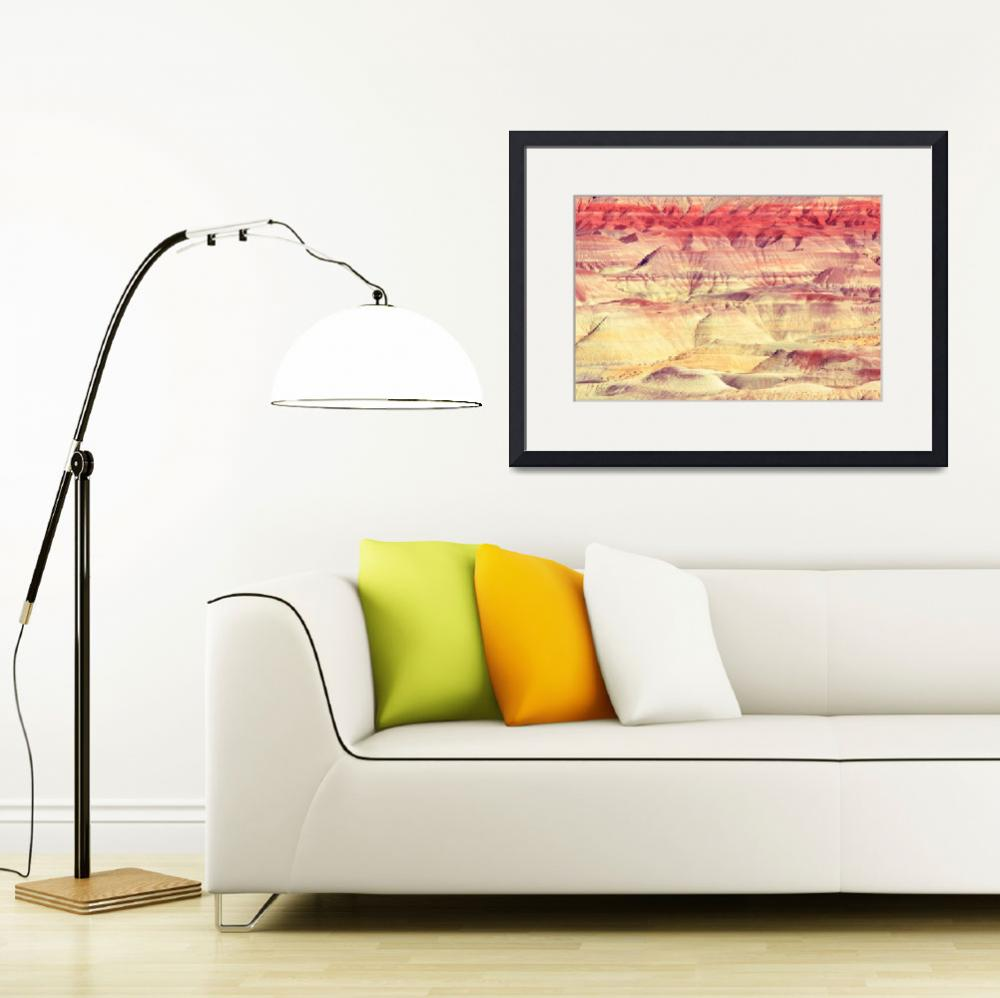 """""""Painted Desert Abstract&quot  (2013) by RoupenBaker"""