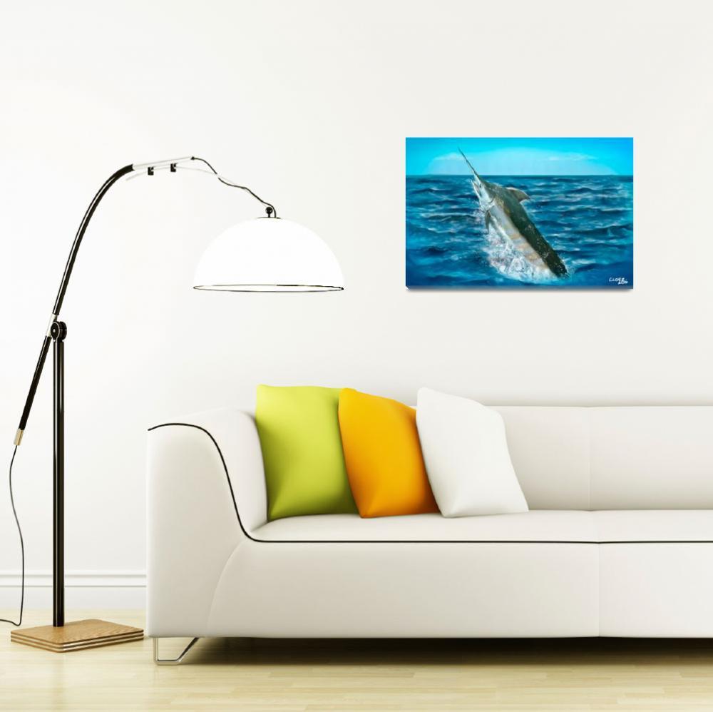 """""""Sailfish""""  by ChrisLopezArt"""