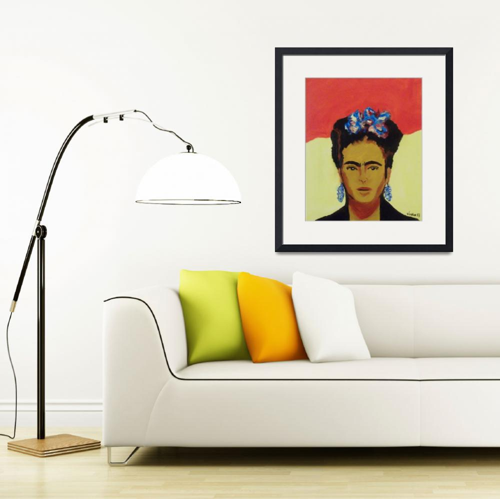 """""""Frida&quot  (2013) by justinmyers"""