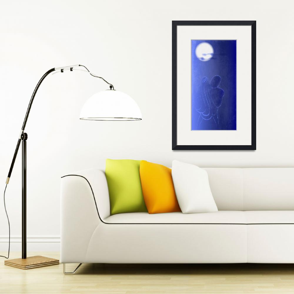 """""""Moon Kiss""""  (2010) by NorcalArtist"""