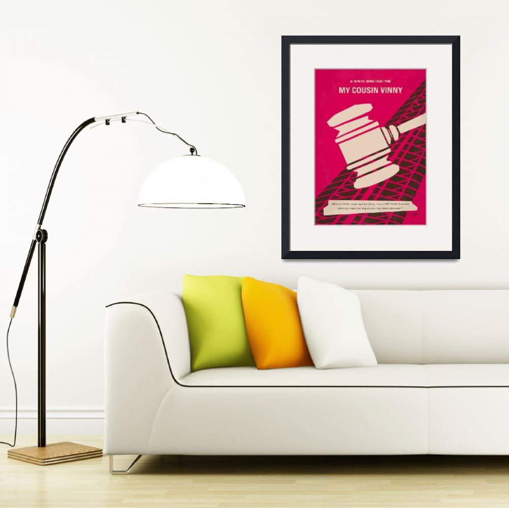"""""""No852 My Cousin Vinny minimal movie poster&quot  by Chungkong"""