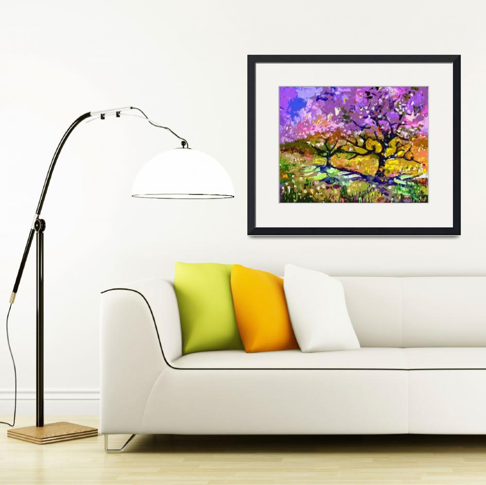 """""""Spring in Provence Original Art by Ginette&quot  (2012) by GinetteCallaway"""