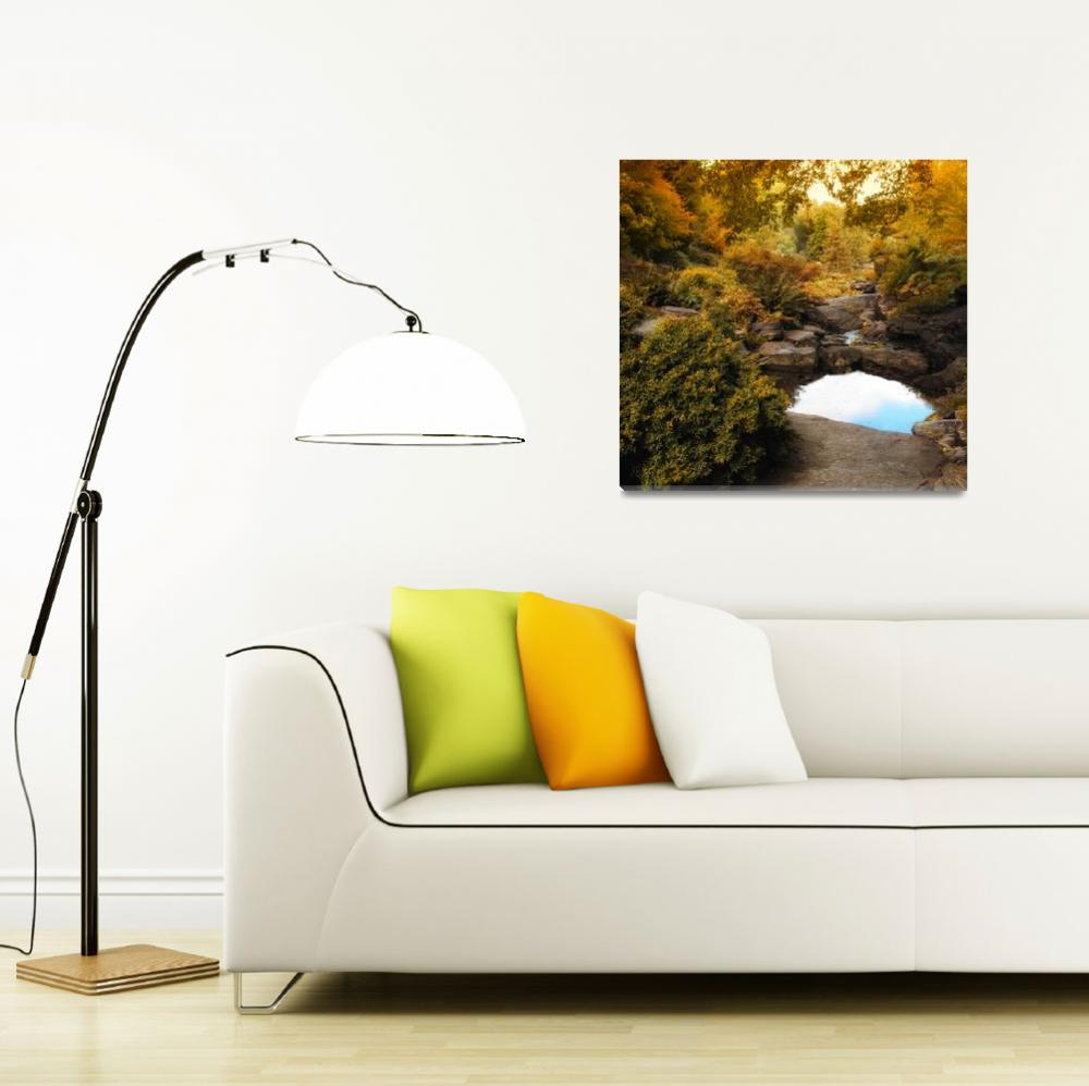 """Autumn Rock Garden""  (2012) by JessicaJenney"