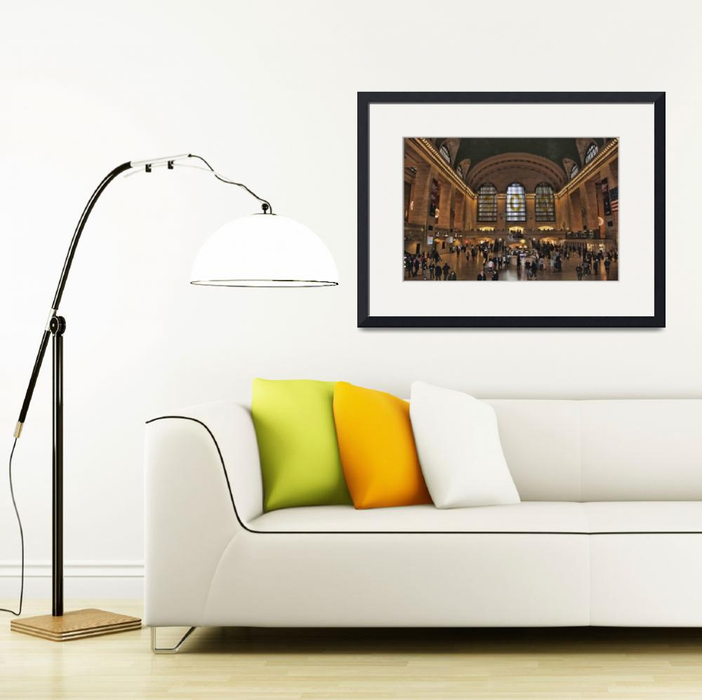 """""""Grand Central Terminal&quot  by StevePurnell"""