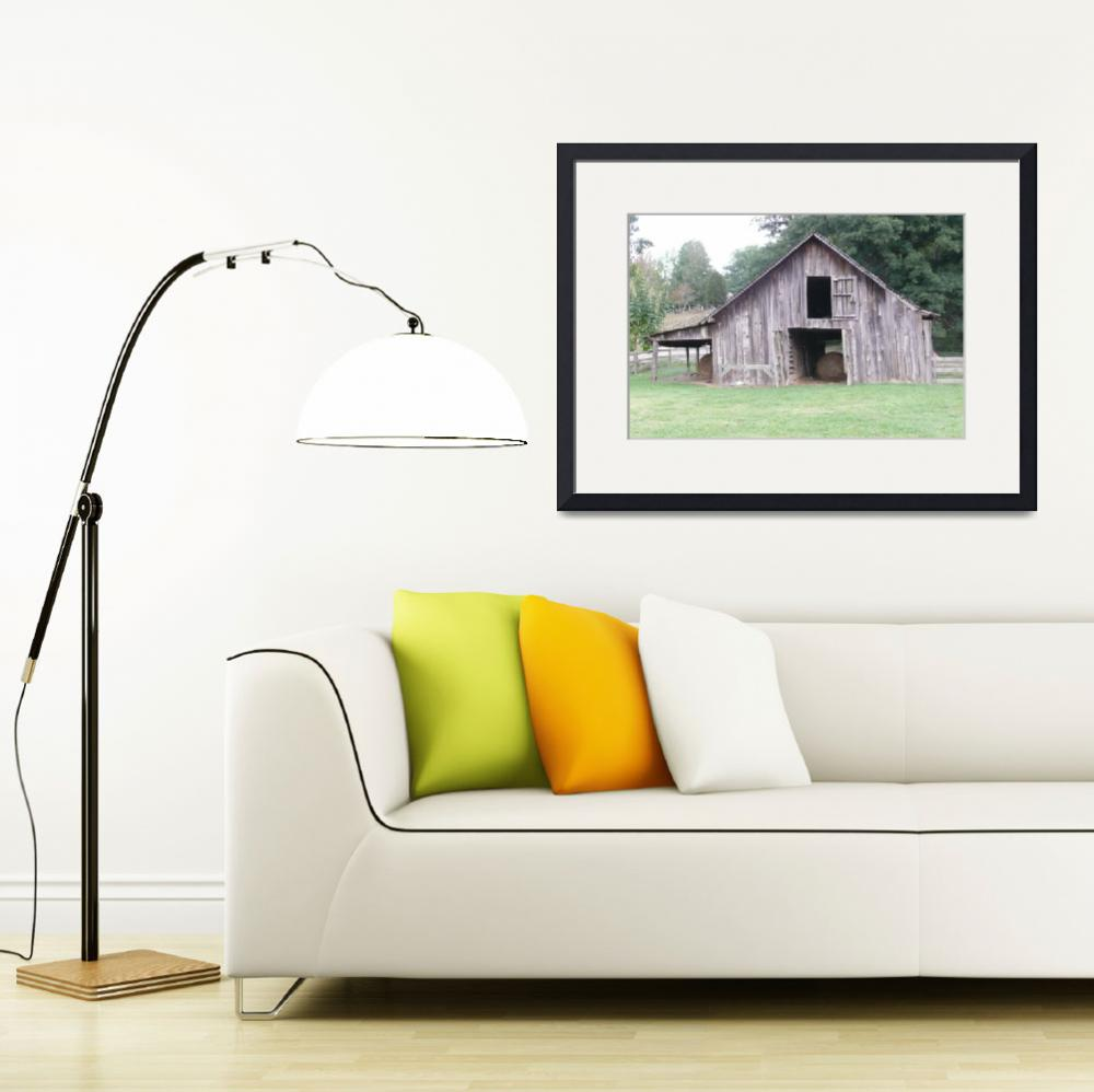 """""""Fincher Barn, Rustic Charm 02&quot  (2009) by photographybydonna"""
