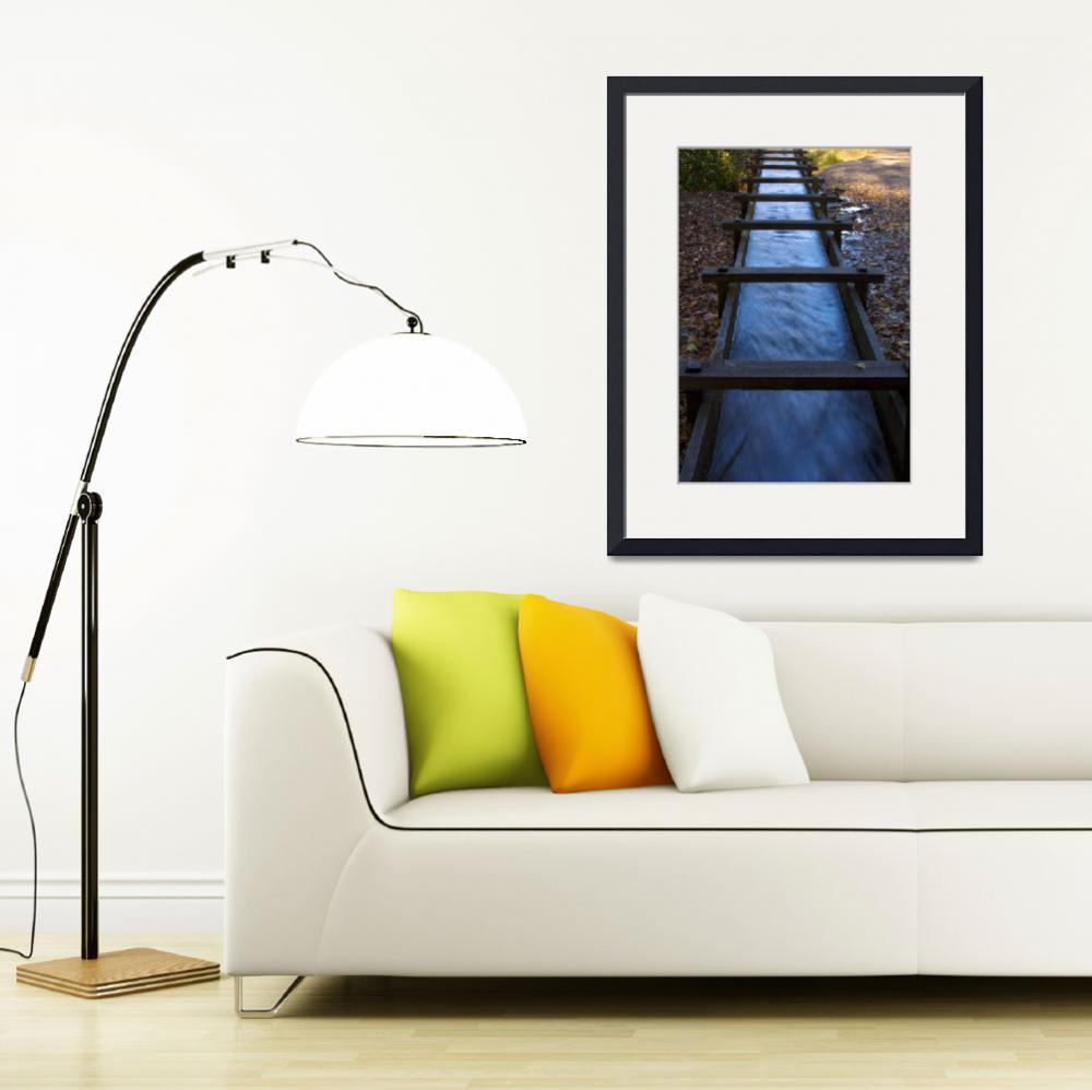 """""""Mill Race&quot  (2008) by JHatvanyPhotography"""