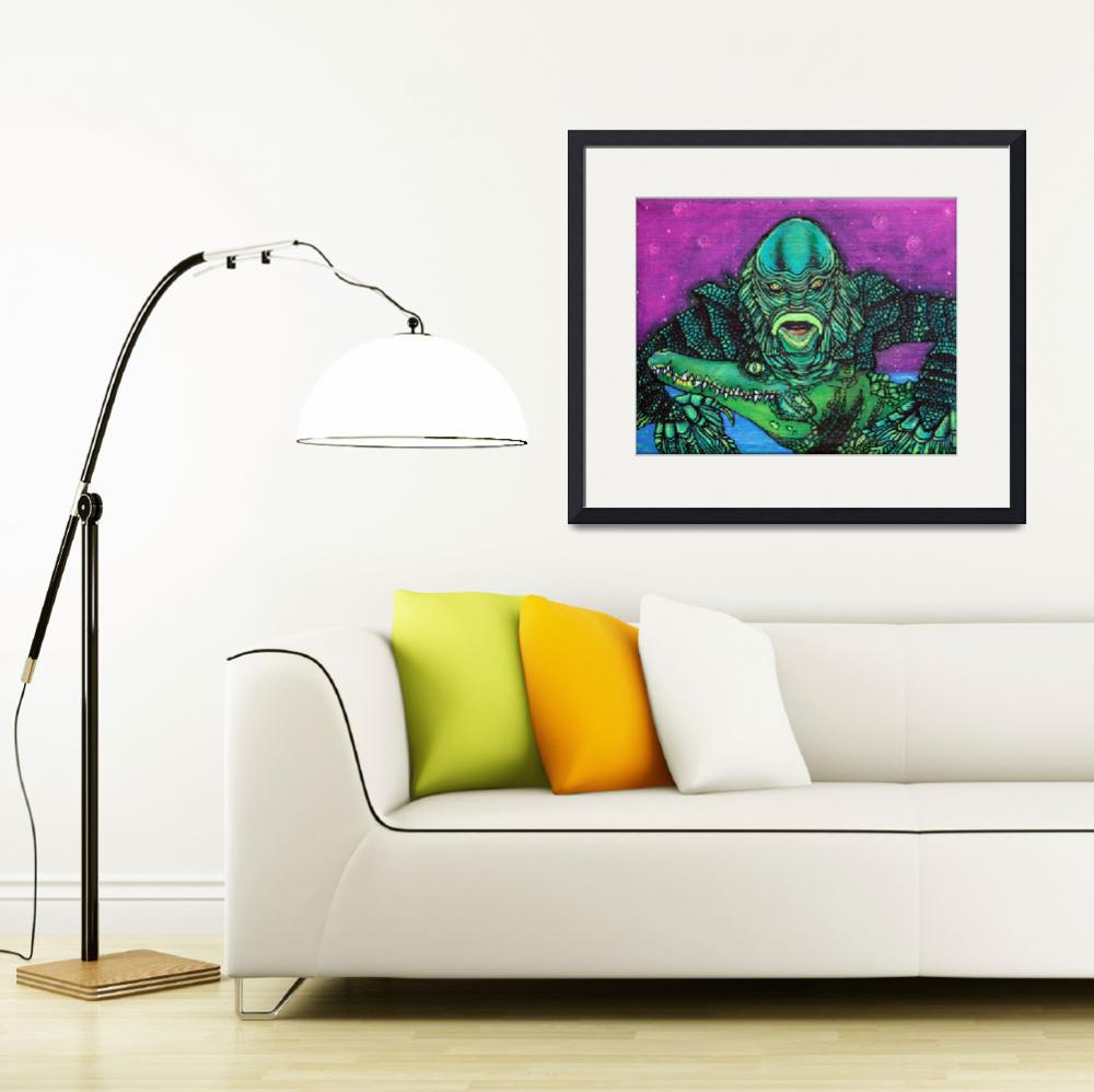 """The Creature Lives""  (2014) by ArtPrints"