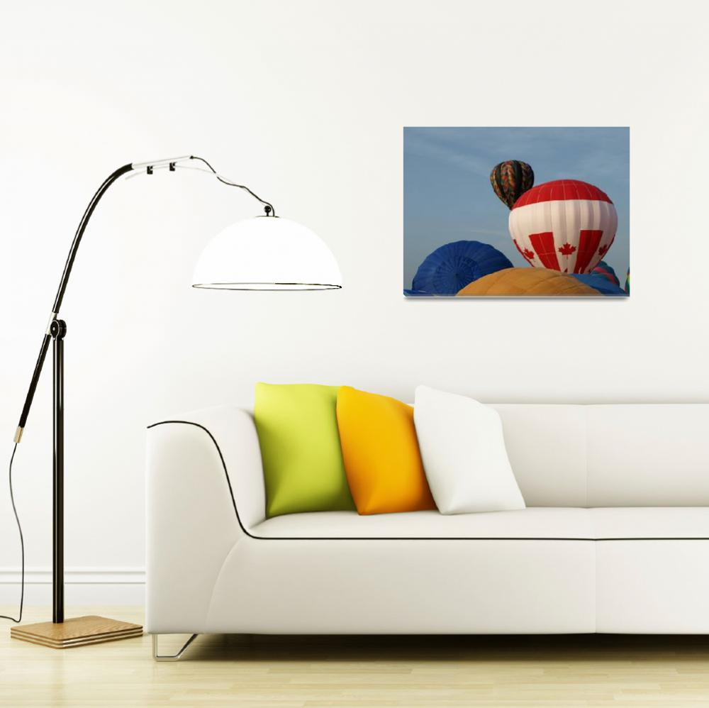 """""""Oh, those hot air balloons 7""""  (2008) by Albertphoto"""