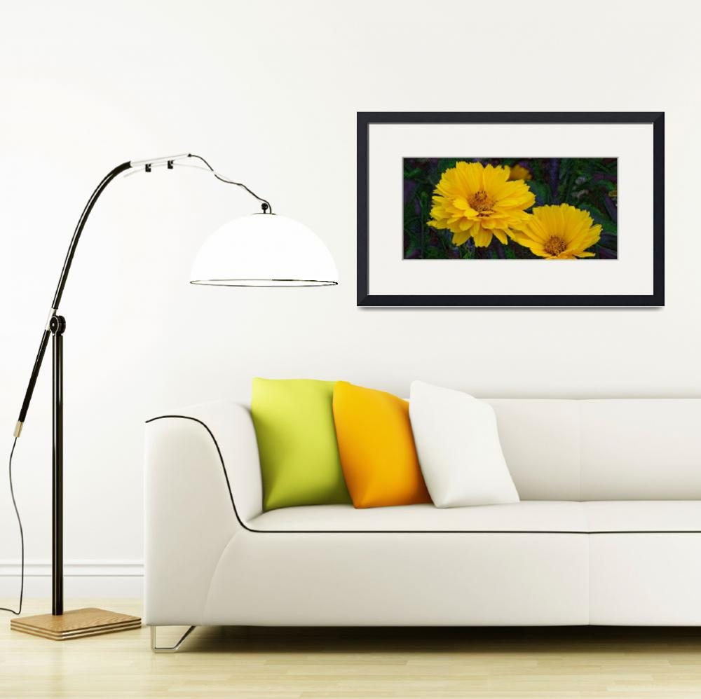 """""""Coreopsis&quot  (2011) by eGiclee"""