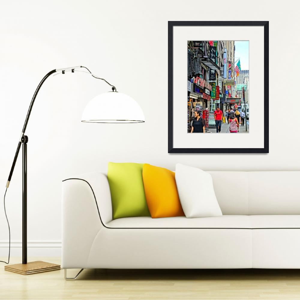 """""""Streets of New York&quot  (2012) by MauiViews"""