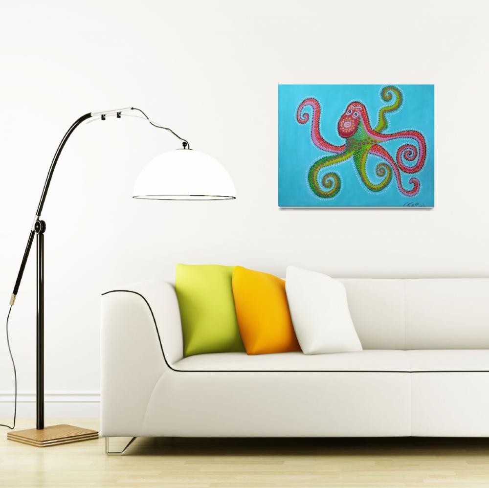 """Octopus&quot  (2010) by ClaudiaTuli"