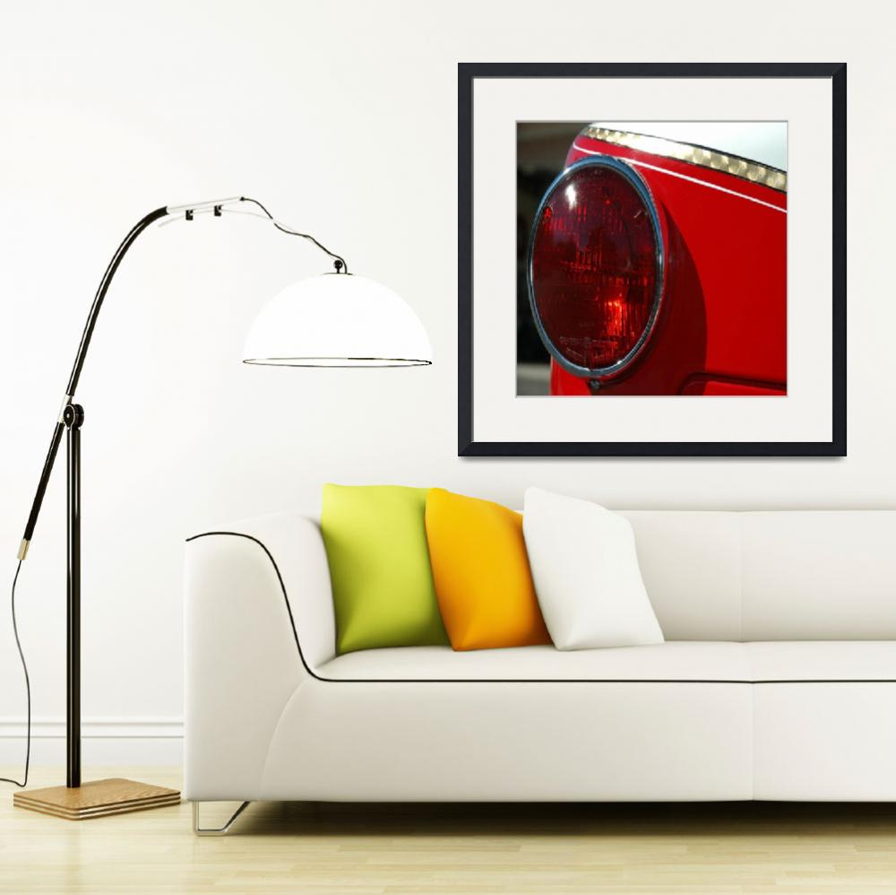 """""""Fire Truck Tail Light&quot  (2013) by swagmaven"""