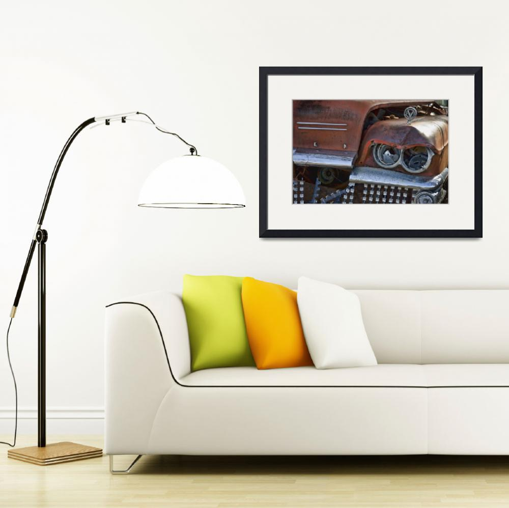 """""""Buick at Jacks&quot  (2009) by JeffBlackwell"""