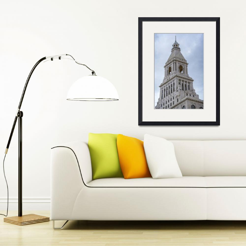 """""""Travelers Tower After 2015 Preservation Completed&quot  (2015) by WilshireImages"""