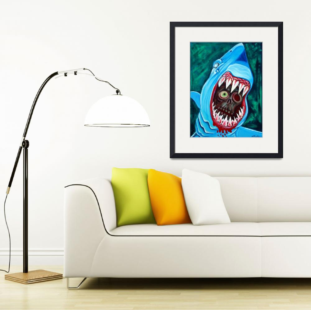 """Great White Gobstopper&quot  (2012) by ArtPrints"