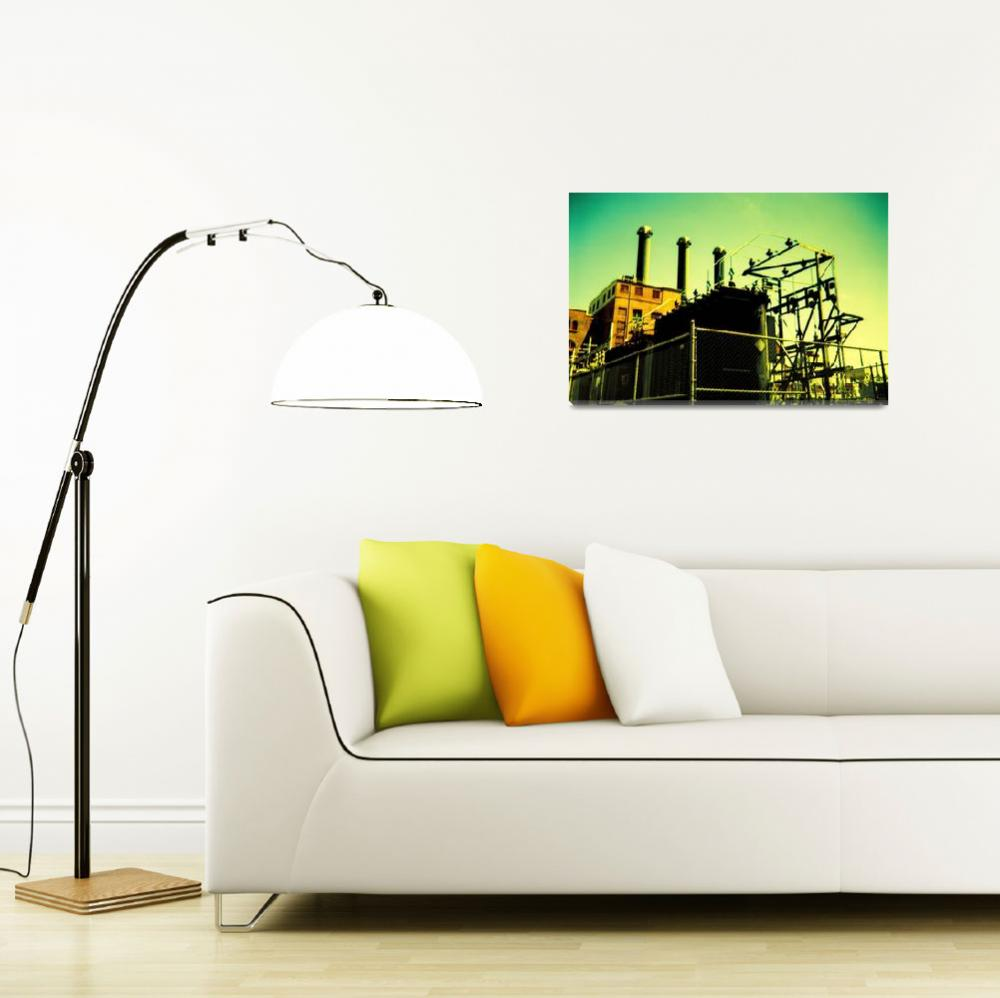 """""""Point Street Power Station&quot  (2007) by mylatehope"""
