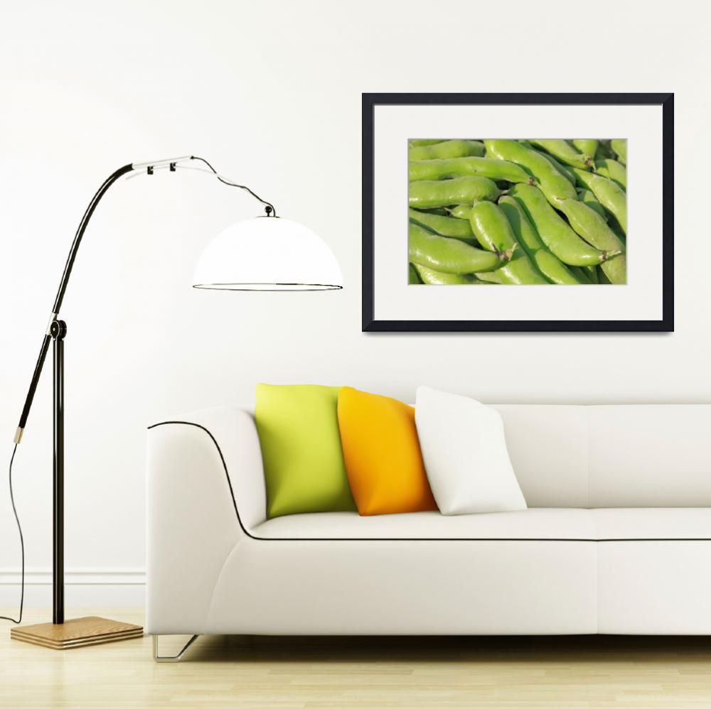 """Fava bean pods&quot  (2012) by gavila"
