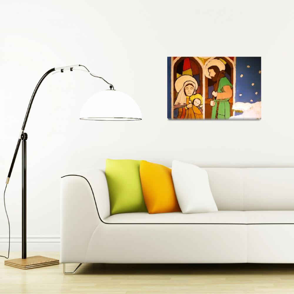 """""""Holy Family by George Wood&quot  (1976) by KsWorldArt"""