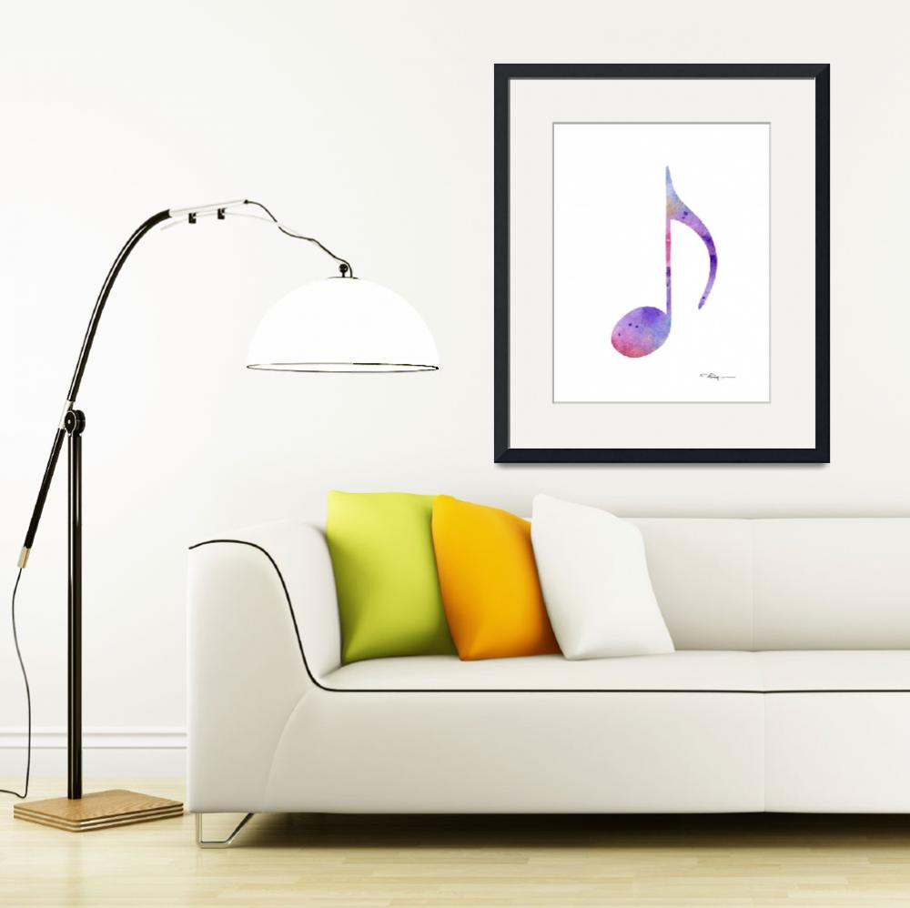 """Musical Note&quot  (2017) by k9artgallery"