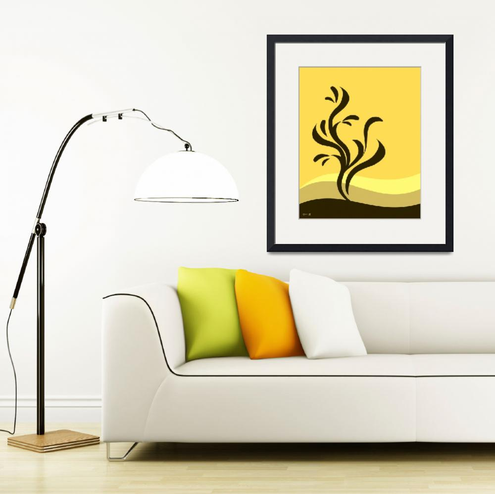 """""""Autumn Abstract&quot  (2011) by waterart"""