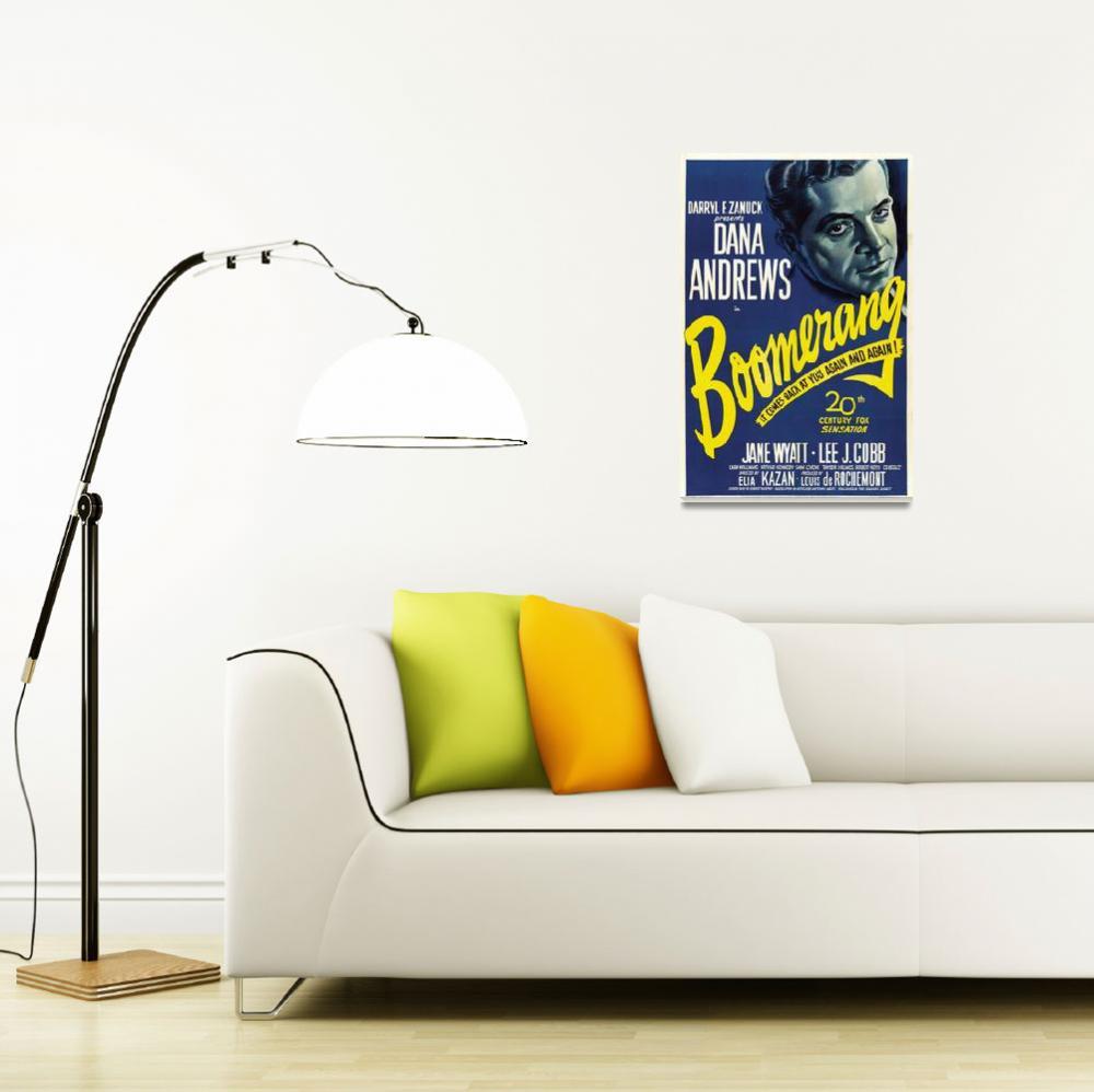 """Film Noir Movie Poster Framed Print""  by LifeHack"