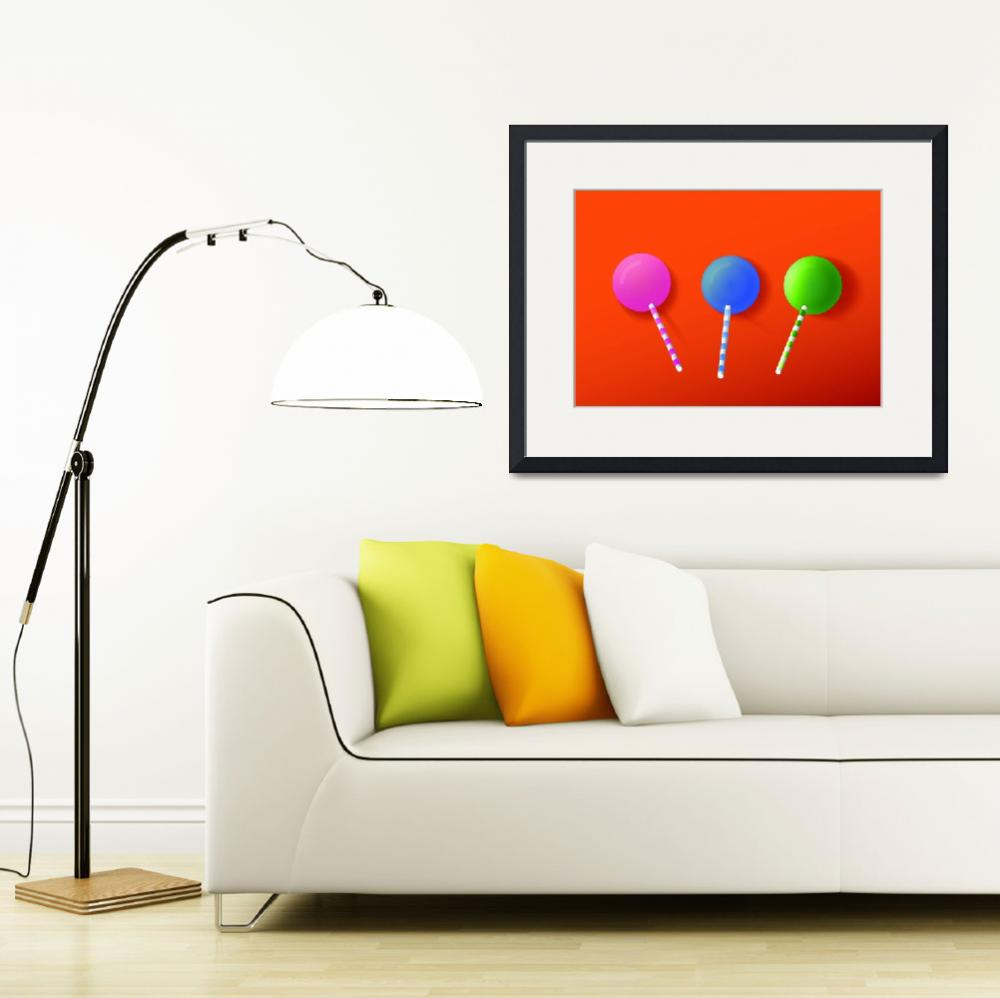 """Lollipops&quot  (2010) by DanCreative"