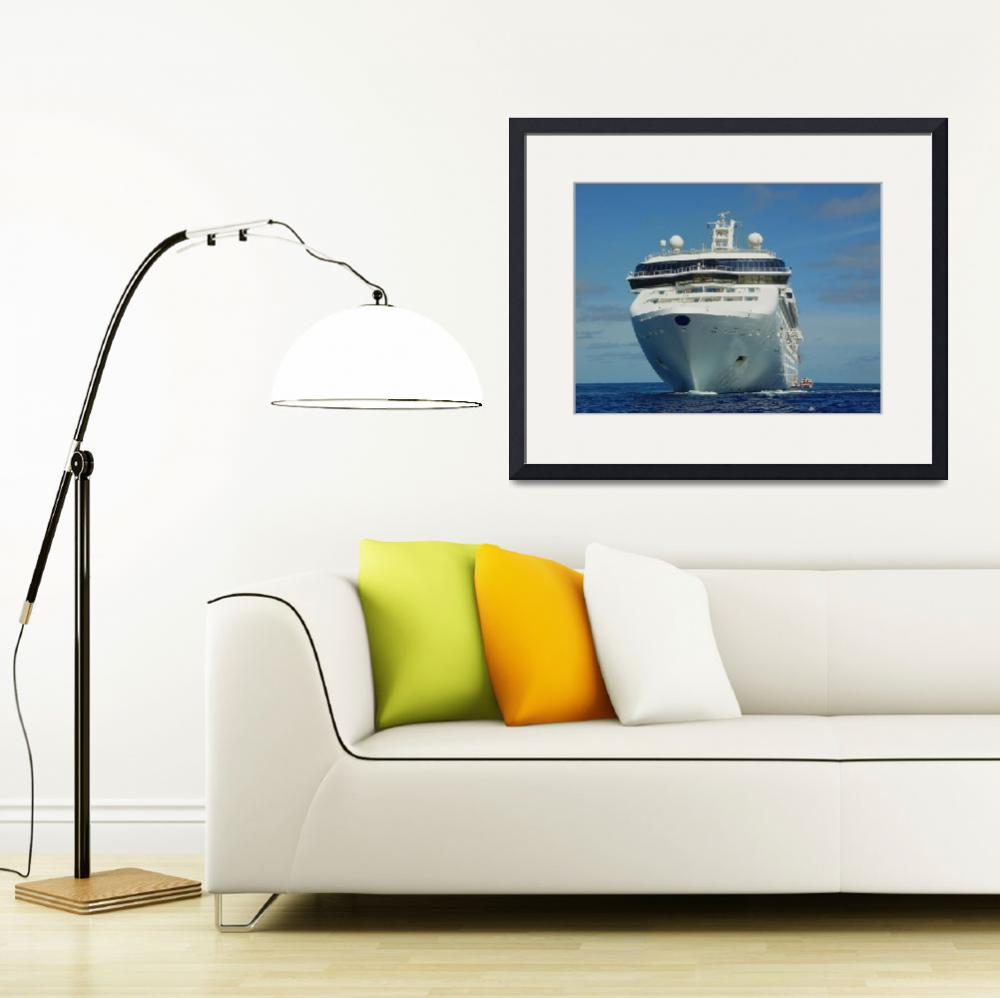 """""""cruise ship&quot  by Pixelography"""
