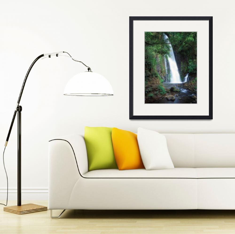 """""""Chorros falls,Costa Rica&quot  (2004) by Leksele"""