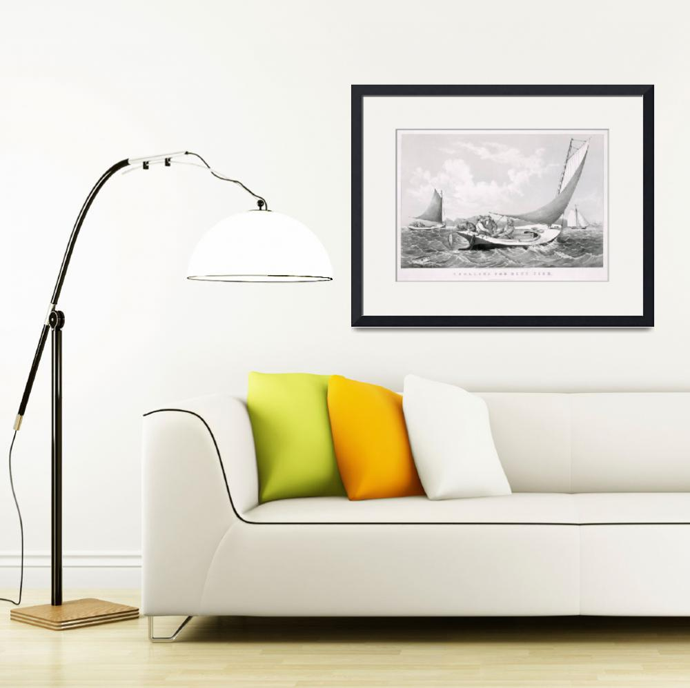 """""""fischer-fishing-sailing-boats""""  by motionage"""