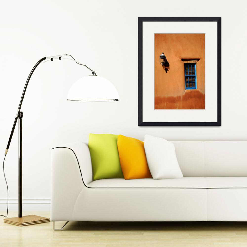 """""""Santa Fe - Adobe Window and Light&quot  (2010) by Ffooter"""