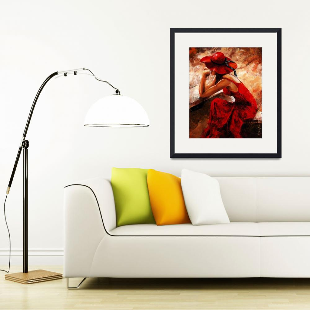 """""""Lady in Red 21""""  (2012) by EmericoStyle"""