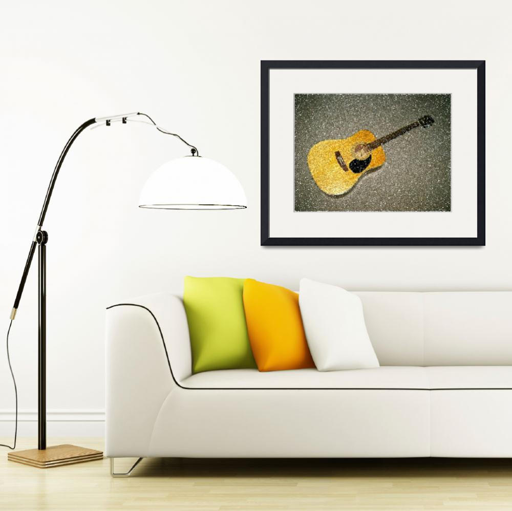 """""""Guitar&quot  (2009) by cameras4kids"""