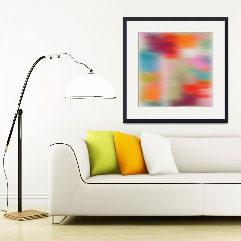 """""""3D Blurred Boundaries - Abstract Expressionism N19&quot  by Aneri"""