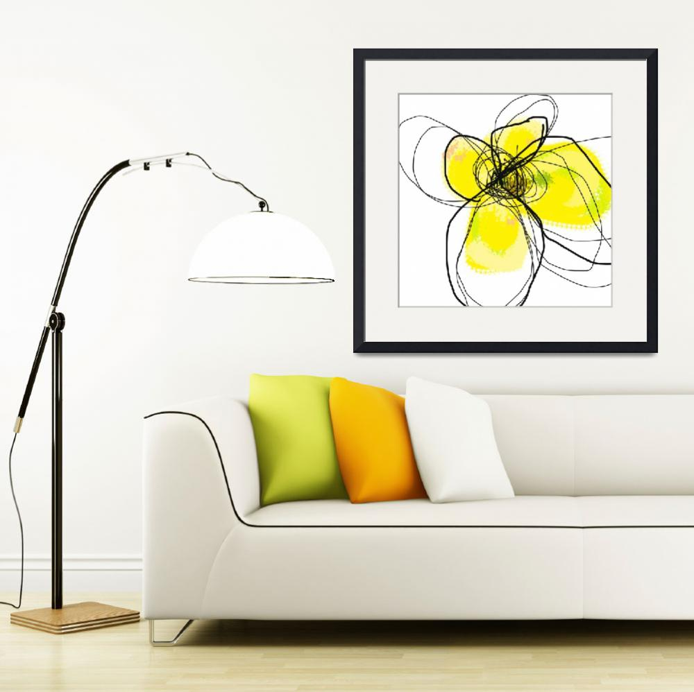 """""""Yellow Petals 2&quot  (2009) by TuesdayMoon"""