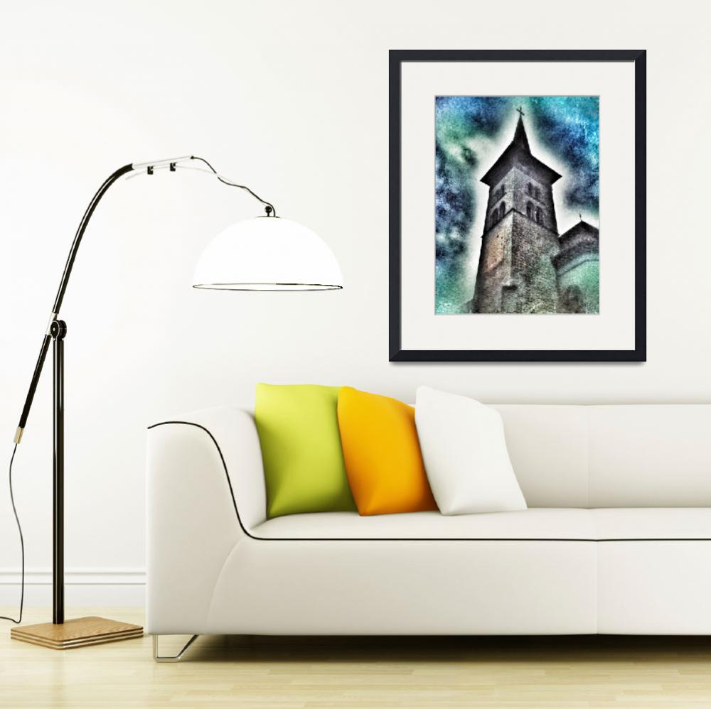 """""""Notre-Dame basilica in Fribourg (Switzerland)&quot  (2012) by jntvisual"""