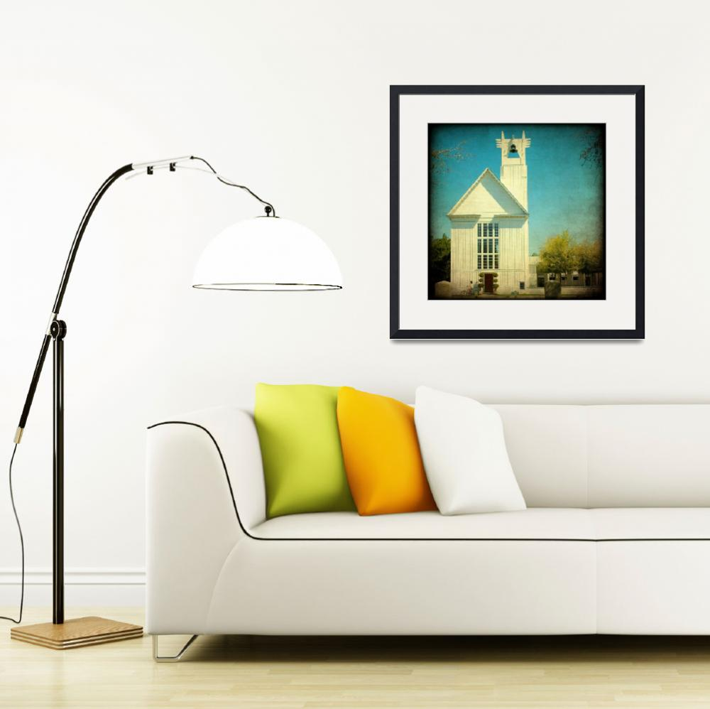 """""""Seaside Church&quot  (2010) by lorieleighlawrence"""