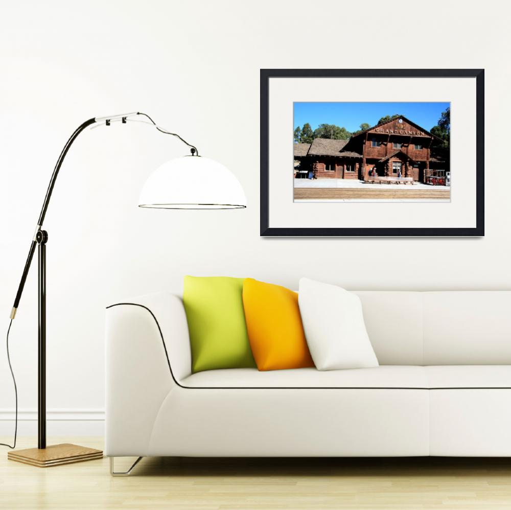 """""""Old Grand Canyon Depot&quot  (2009) by rayjacque"""