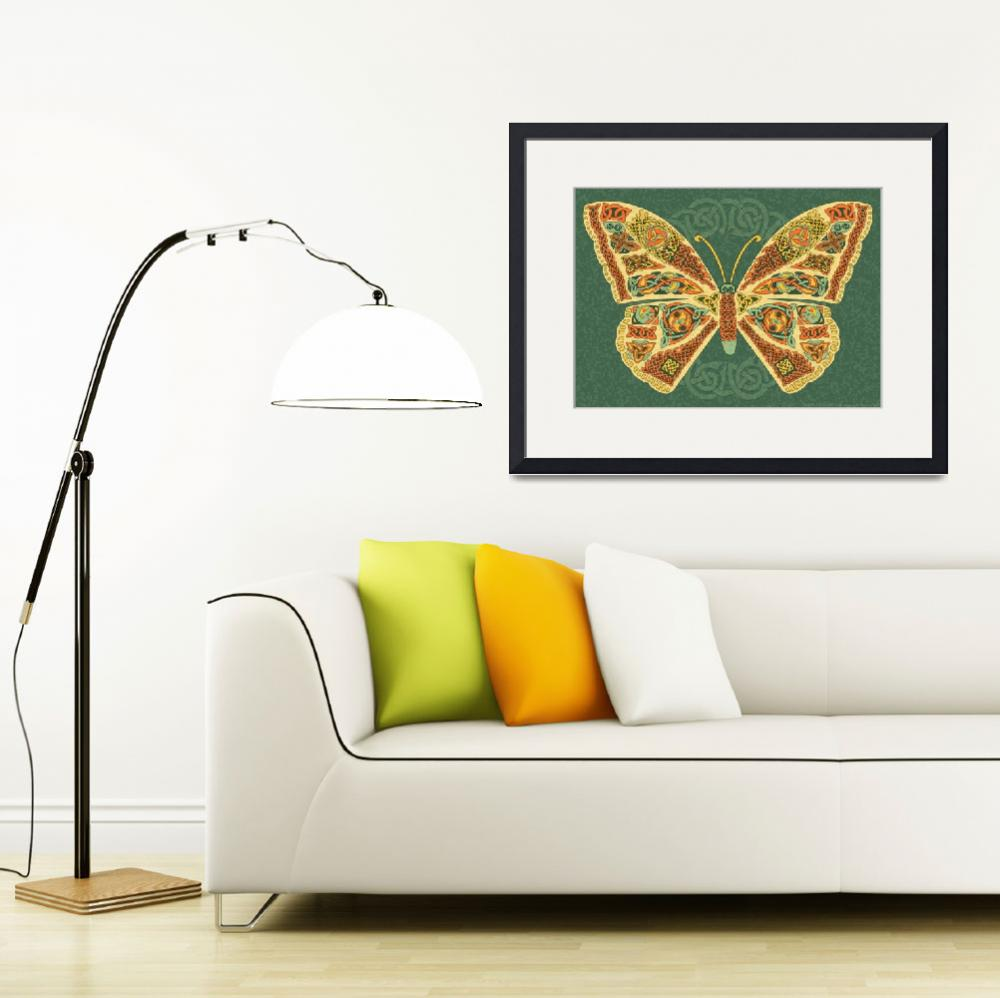 """""""Celtic Butterfly""""  by foxvox"""