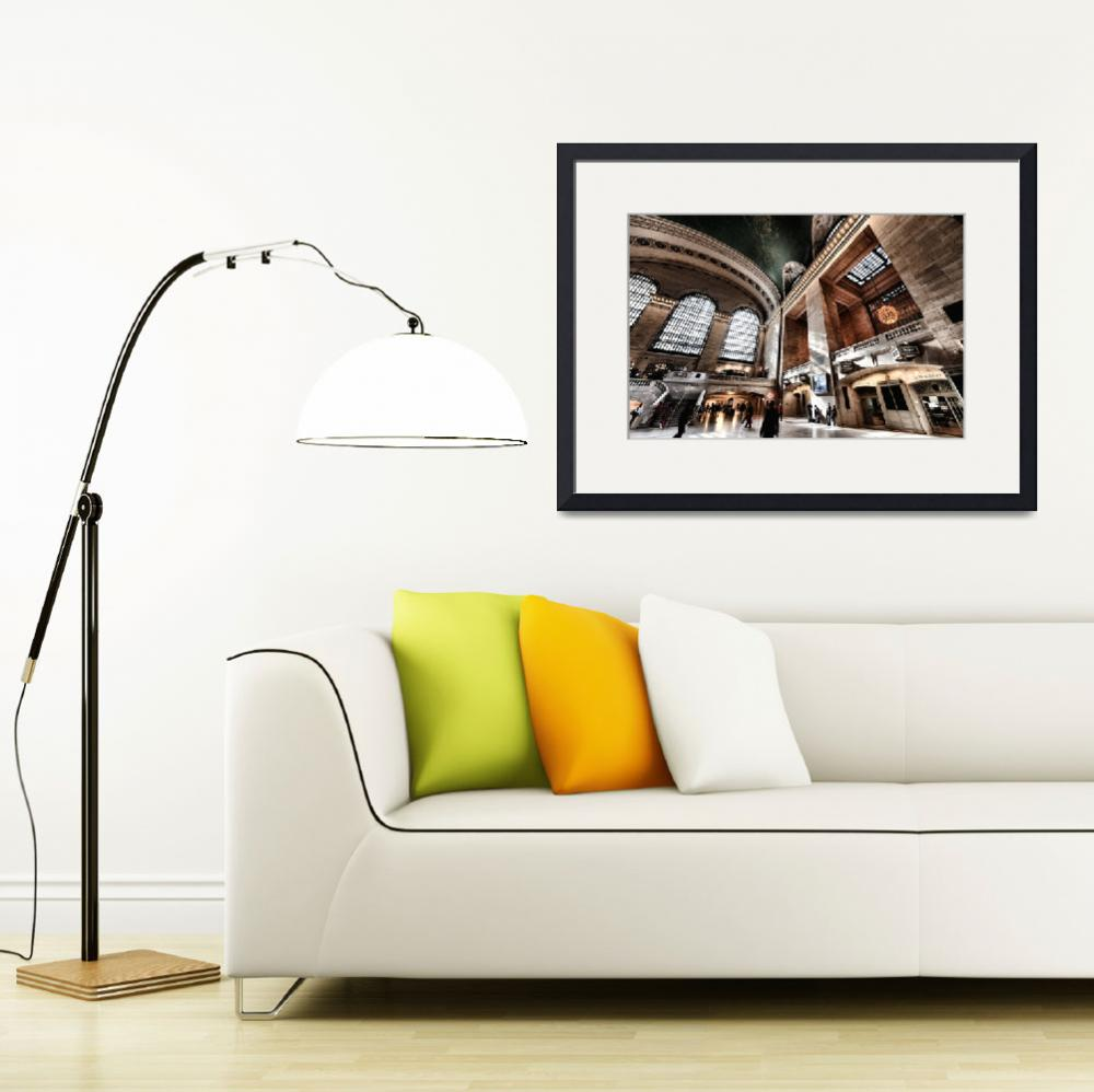 """""""Grand Central Terminal / Station Main Concourse&quot  (2014) by New-Yorkled"""
