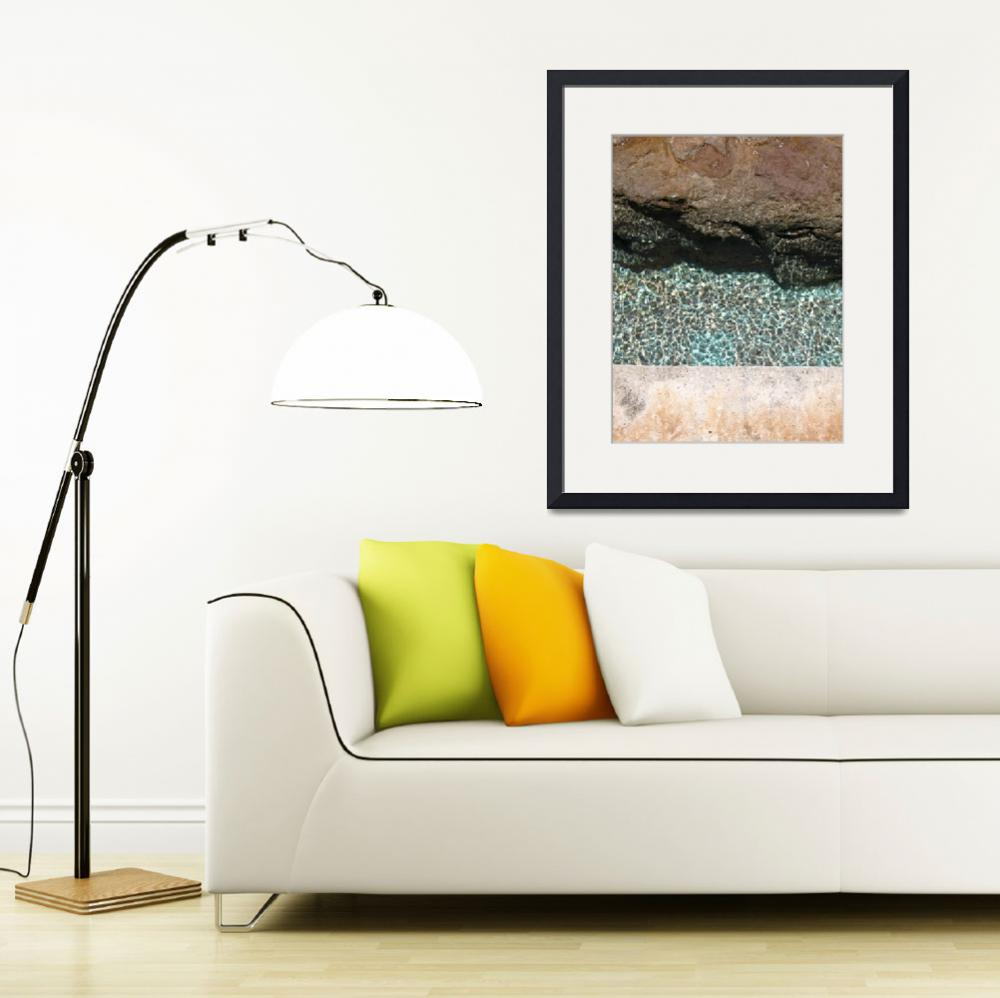 """""""Rocks & Water&quot  (2008) by normalfoto"""