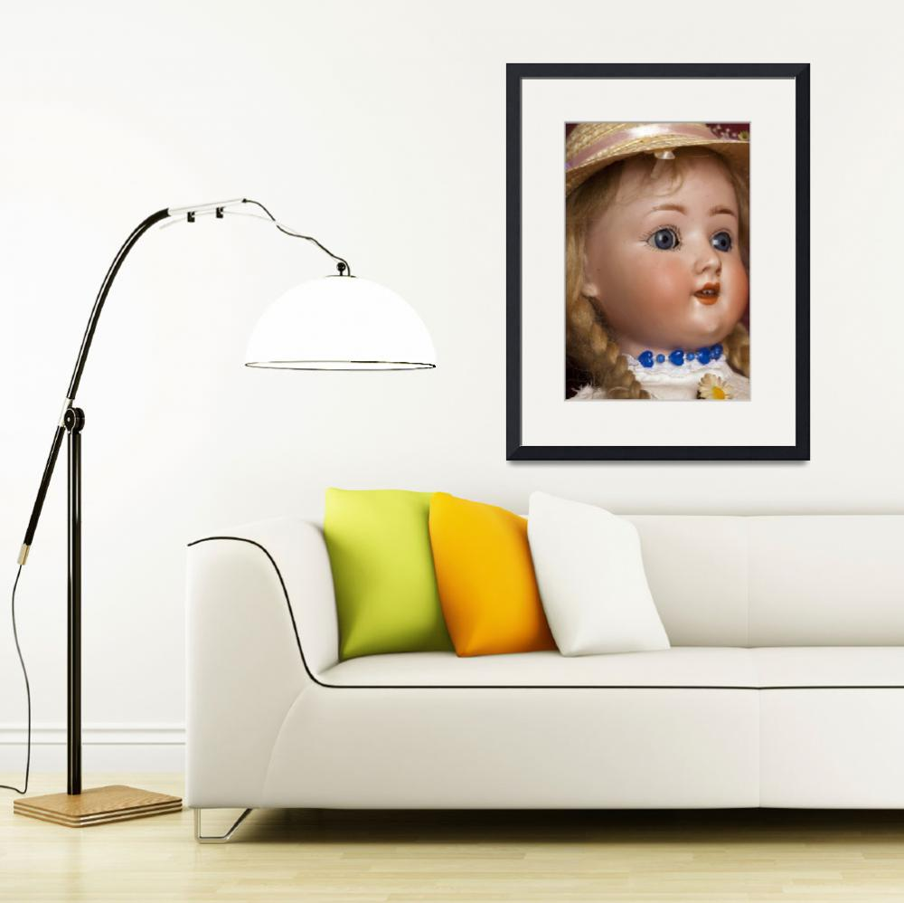"""""""_MG_1736_Daisy Bisque Head Doll_g - Daisy - a Bisq&quot  by johnrochaphoto"""