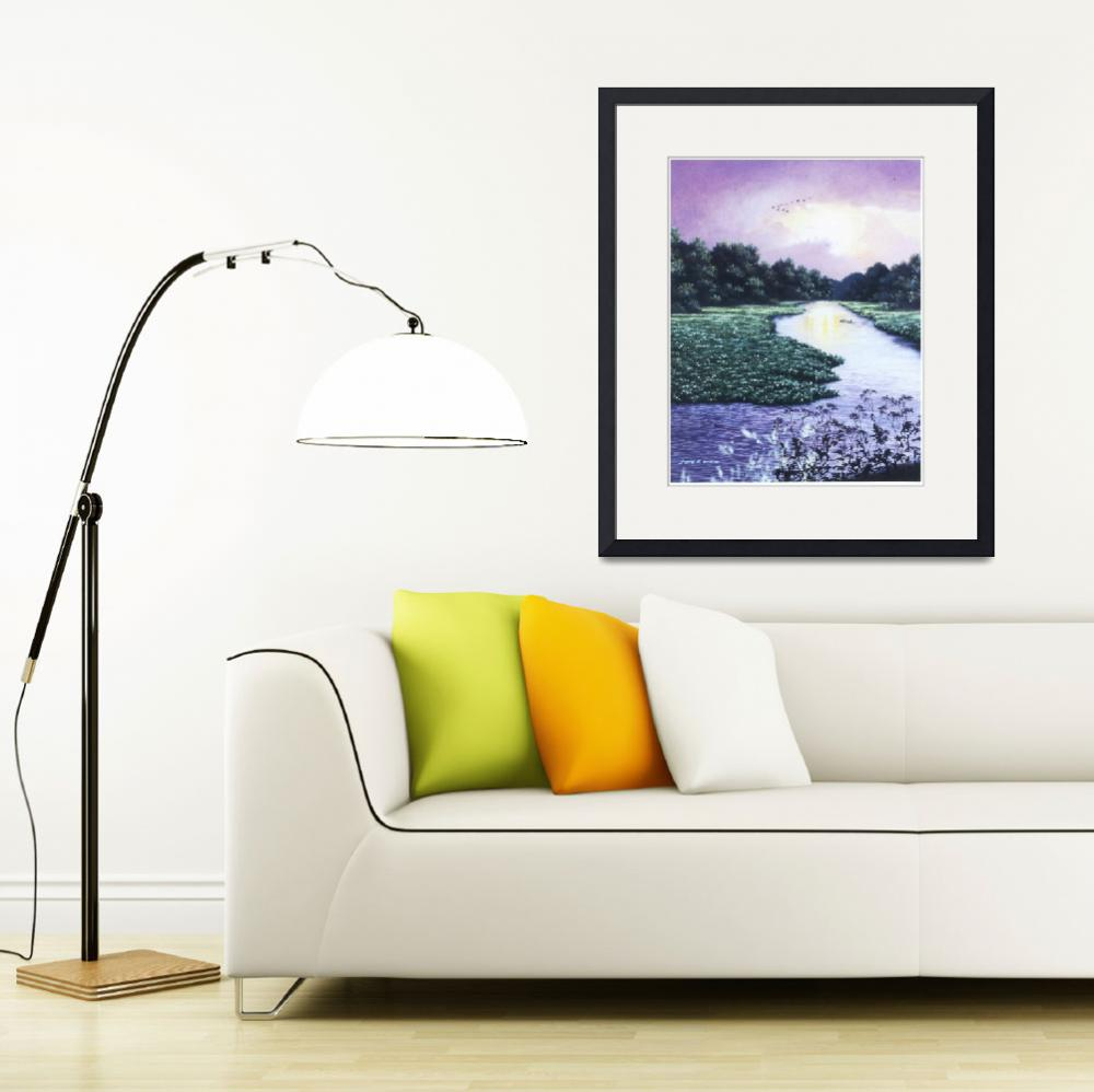 """""""Wekiva River After The Storm&quot  by gwhittart"""