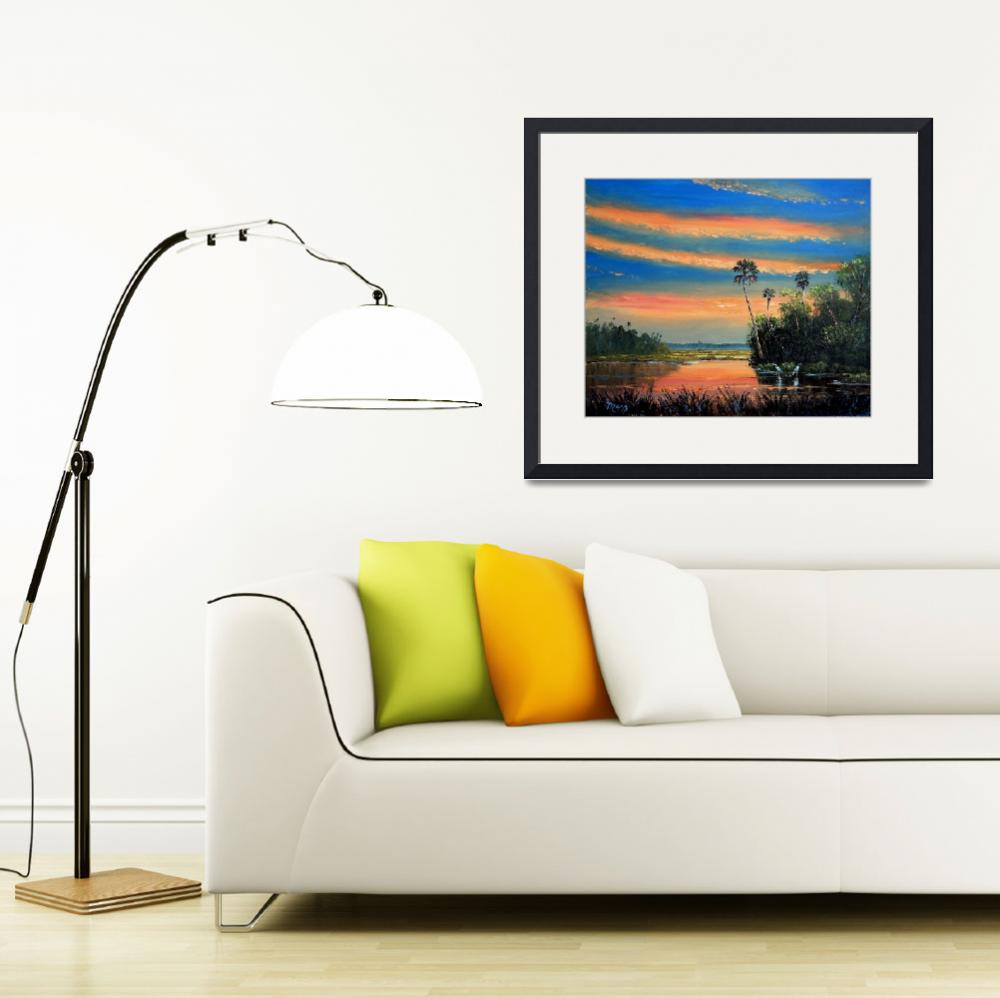 """""""Fire Sky Florida&quot  (2006) by mazz"""