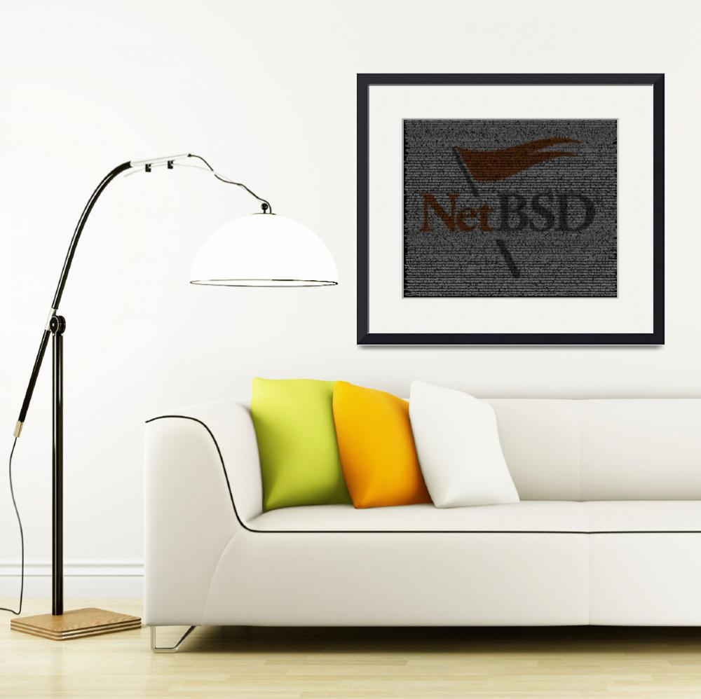 """""""NetBSD Source Poster""""  (2010) by 0xfe"""
