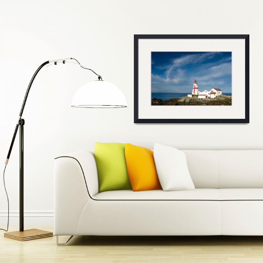 """""""East Quoddy Lighthouse (Head Harbour Lighthouse)&quot  by cary"""
