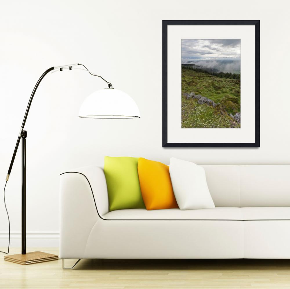 """""""South View from Slieve Gullion&quot  (2014) by MichaelStephenWills"""