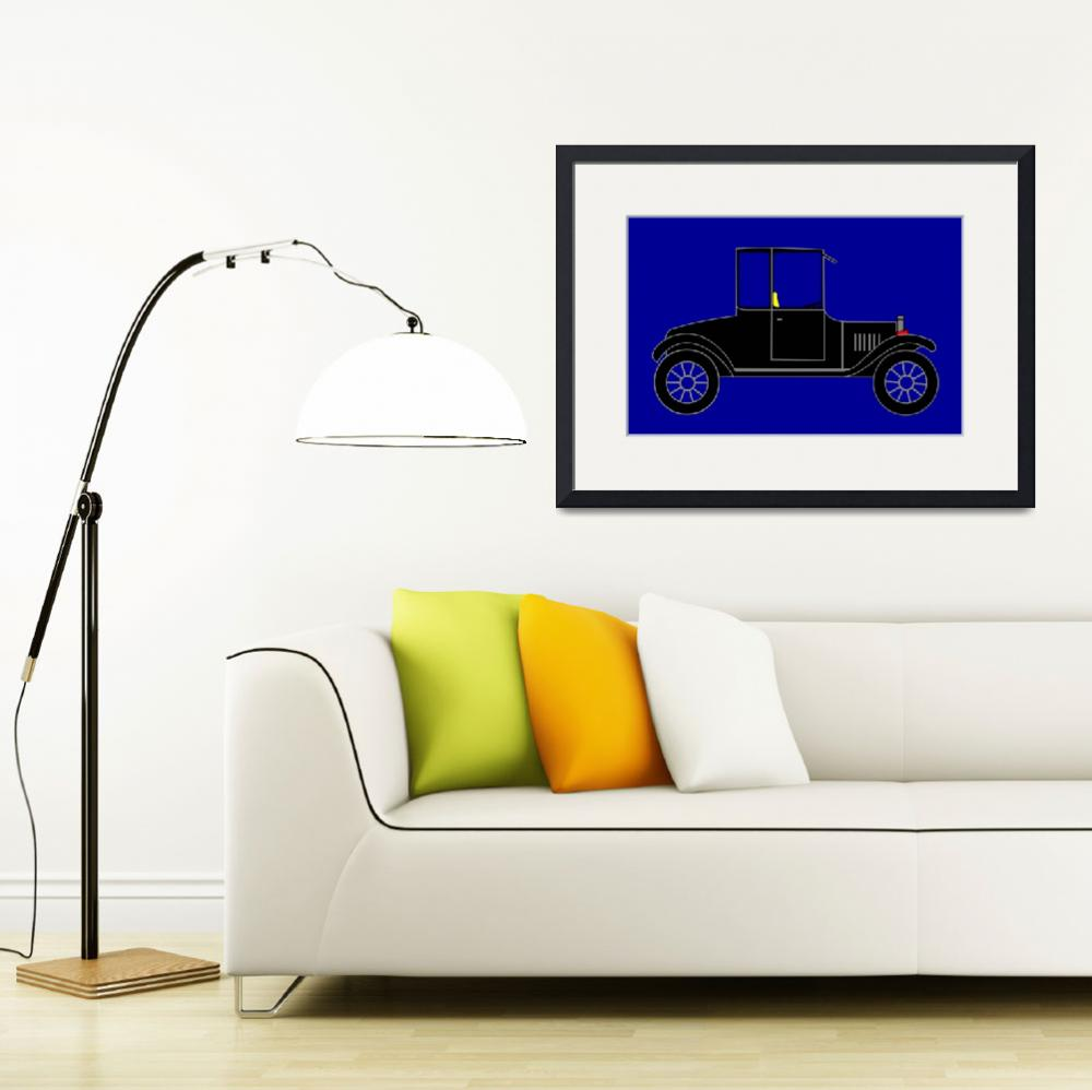 """""""1919 Ford High Body Model-T Coupe&quot  by Lonvig"""