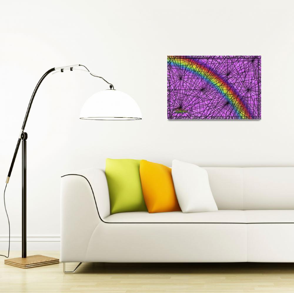 """""""rainbow mist""""  (2007) by DCLWolf"""