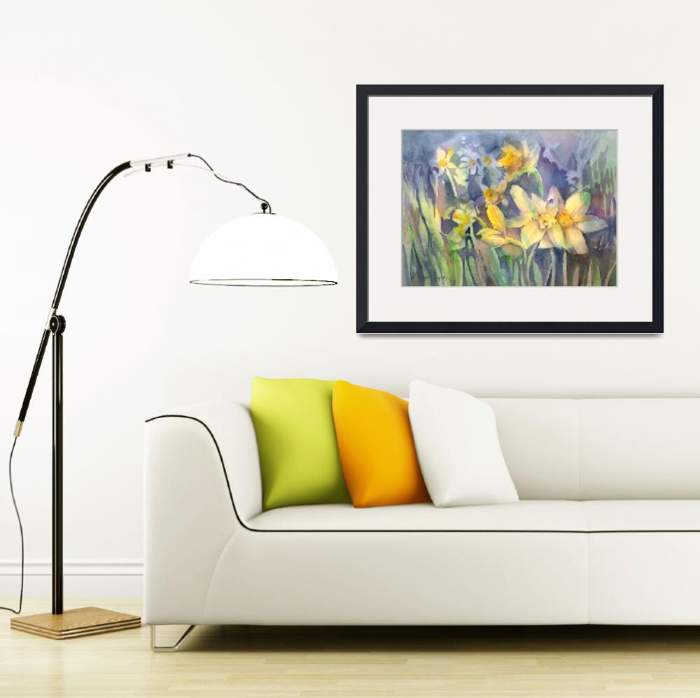 """""""Daffodils&quot  (2012) by awagner"""